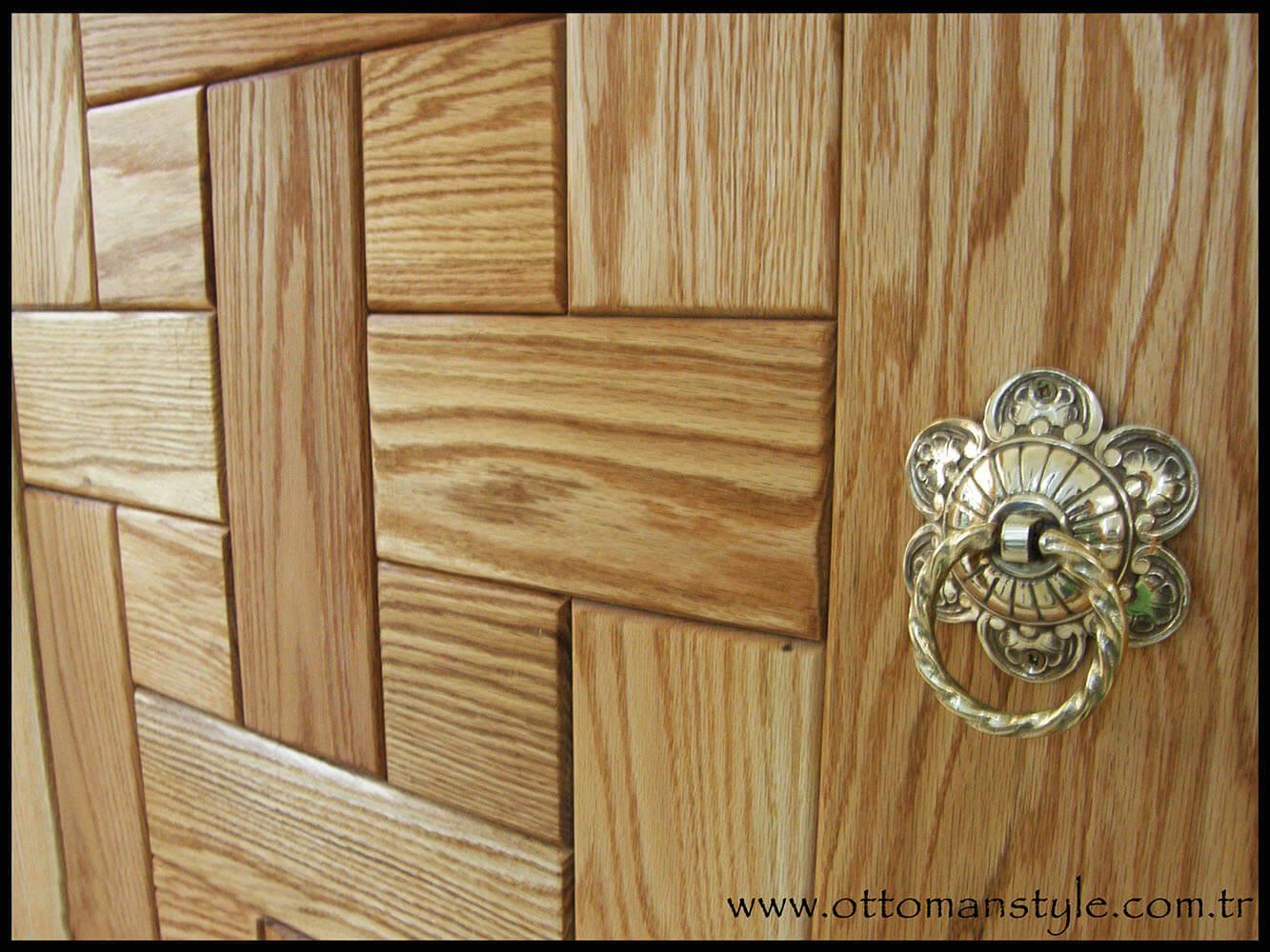 Ahşap Kapı Desenleri