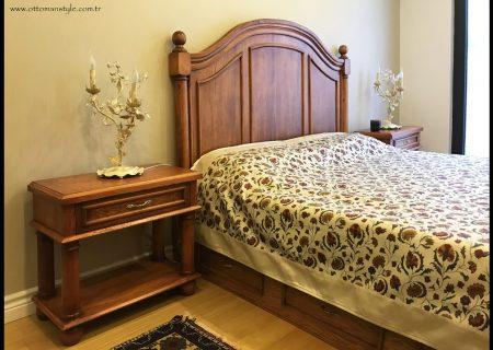 Ahşap Yatak Odası