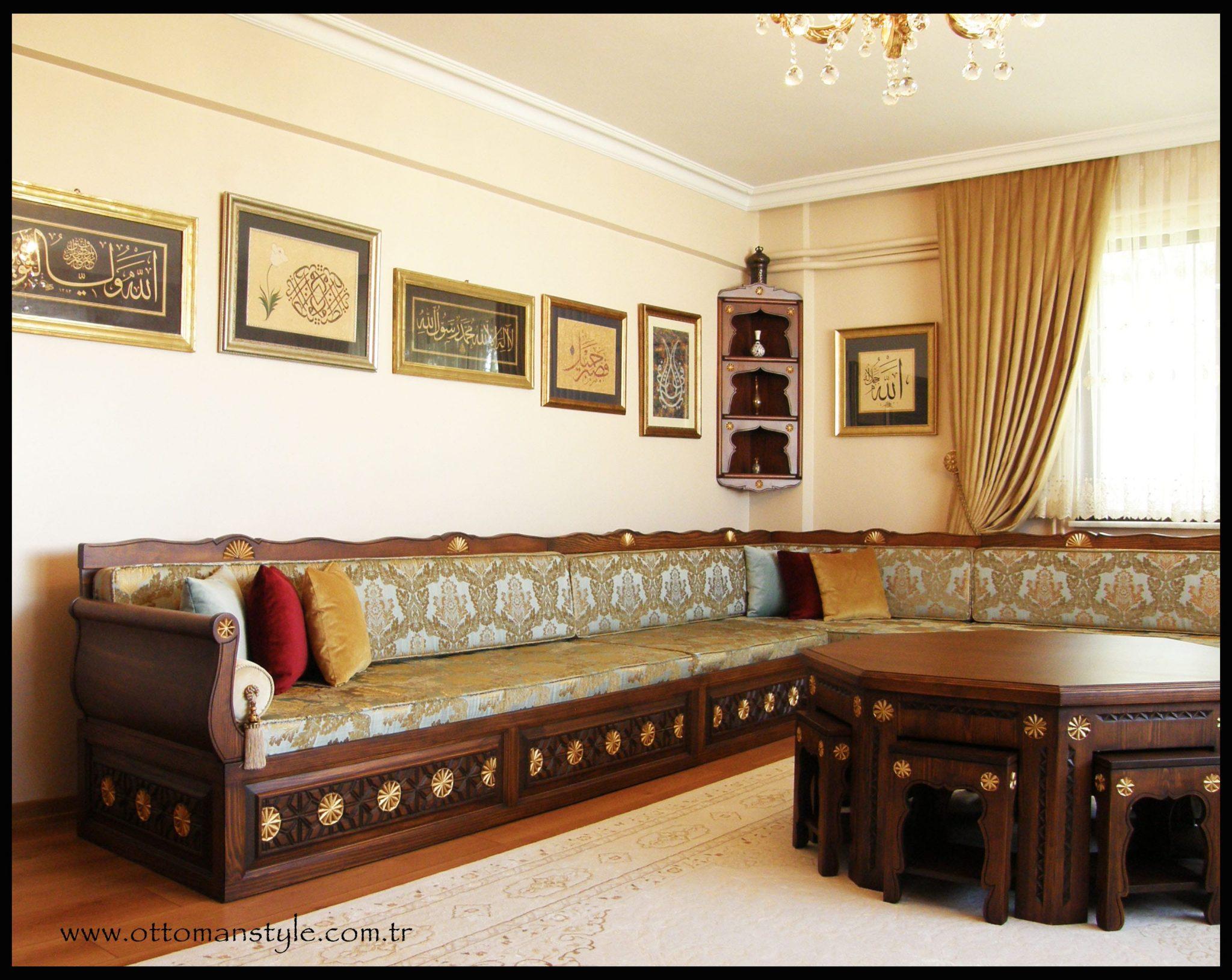 Osmanlı Şark Odası ve Şark Köşesi