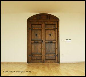 Osmanlı Tarzı Ahşap Kapı
