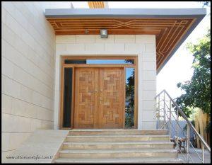 meşe cami kapısı